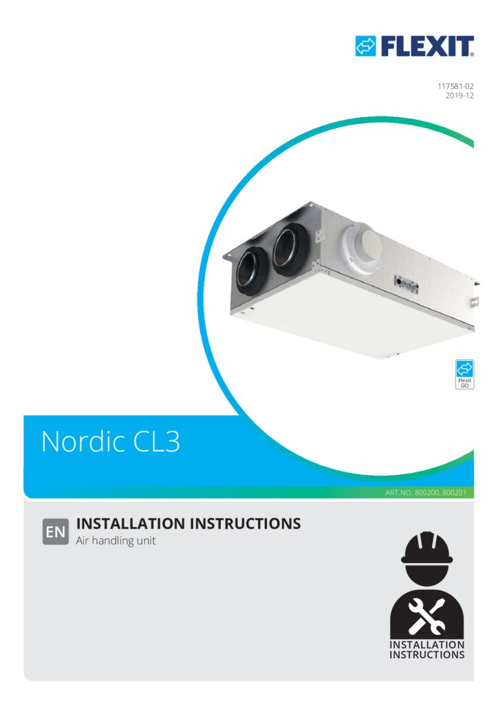 thumbnail of INSTALLATION INSTRUCTIONS CL 2